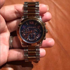 MICHAEL KORS Chronograph Two-tone Watch MK6156